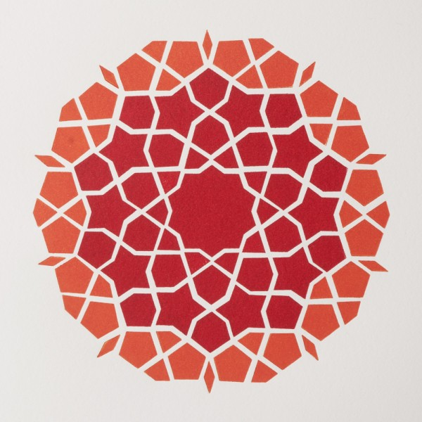 girih-mosaic-orangered-sq-by-ambigraph