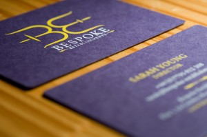 bespoke establishments business cards