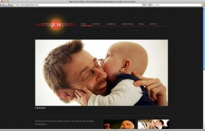 Warm Glow Photo site - home