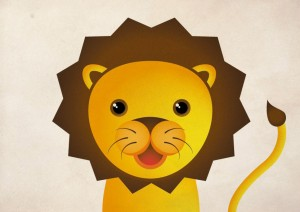 lion-cub-card by ambigraph
