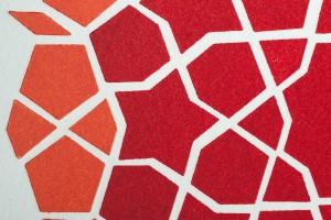 girih-mosaic-orangered-closeup-by-ambigraph