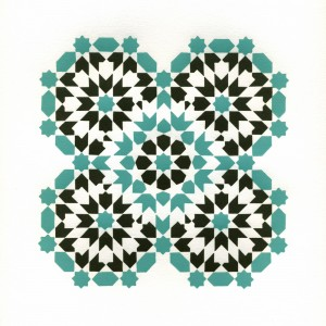 octaquad-turquoisebrown-print-by-ambigraph