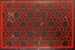 red-jaali