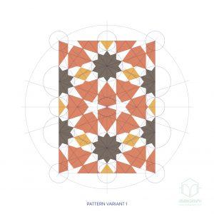 tenfold hexagon repeat R&C-01g