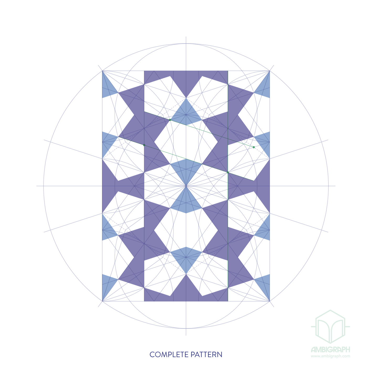 tenfold hexagon repeat R&C-01n